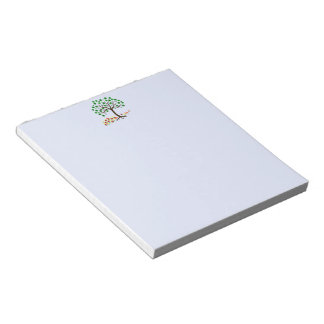 Recycle Tree and Flowers Notepads