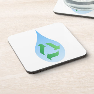 Recycle Water Cork Coaster