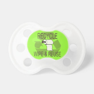 Recycle - Wipe and Reuse Pacifier