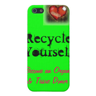 Recycle Your Parts Case For The iPhone 5