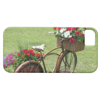 recycled flower bicycle case for the iPhone 5