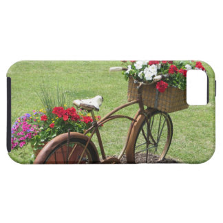 recycled flower bicycle iPhone 5 cases