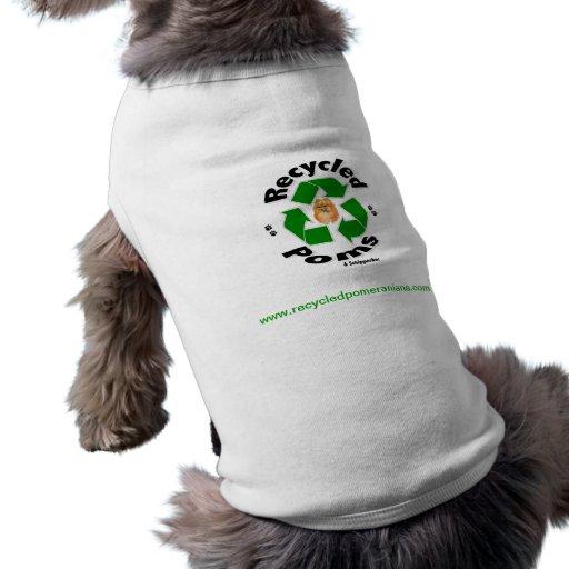 Recycled Pomeranians Doggie T-Shirt