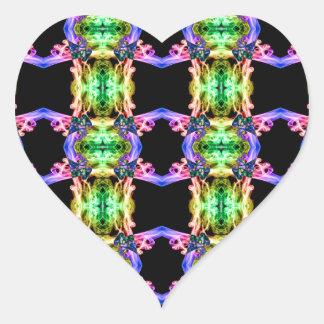 Recycled Smoke 0917  (12) Heart Sticker