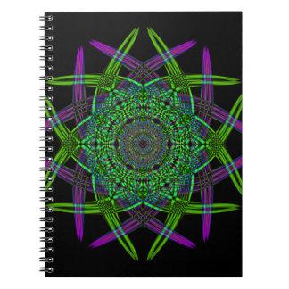 Recycled Smoke Art  (5) Notebooks