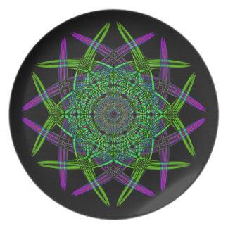 Recycled Smoke Art  (5) Plate