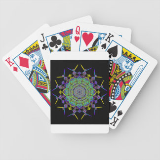 Recycled Smoke Art (6) Bicycle Playing Cards