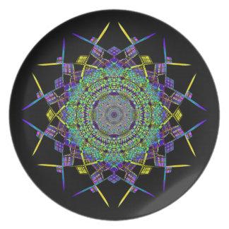 Recycled Smoke Art (6) Plate