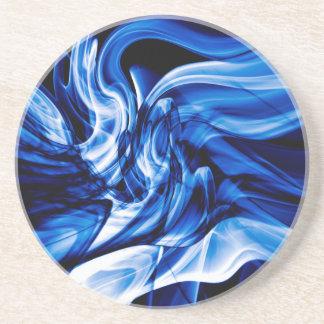 Recycled Smoke Art Design Coaster