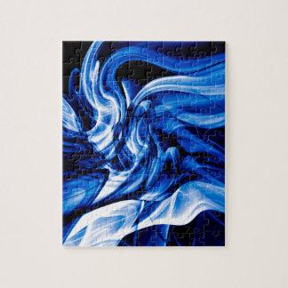 Recycled Smoke Art Design Jigsaw Puzzle