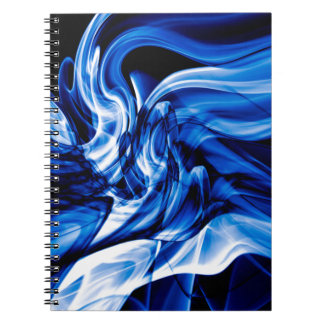 Recycled Smoke Art Design Notebook