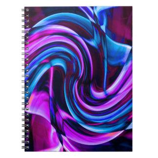 Recycled Smoke Art Design Notebooks