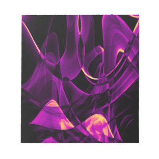 Recycled Smoke Art Design Notepad