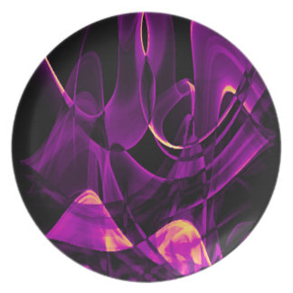 Recycled Smoke Art Design Plate