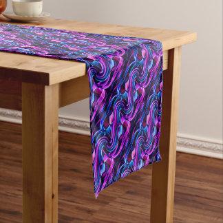 Recycled Smoke Art Design Short Table Runner