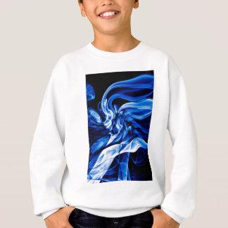 Recycled Smoke Art Design Sweatshirt