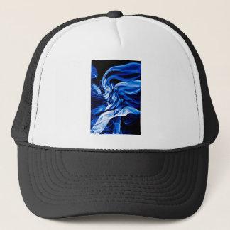 Recycled Smoke Art Design Trucker Hat