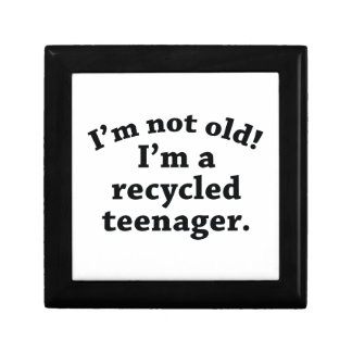Recycled Teenager Gift Box