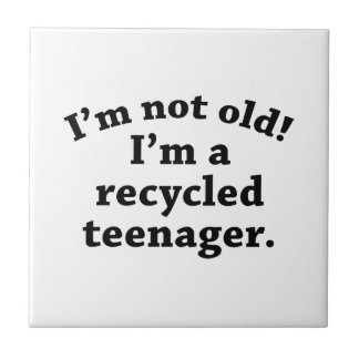 Recycled Teenager Tile