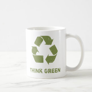 RecycleLogo, Think Green Coffee Mug