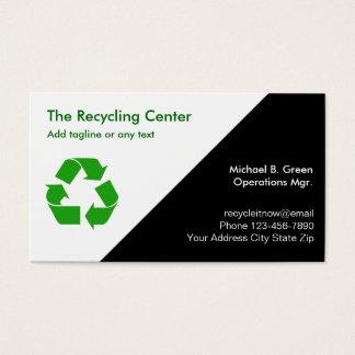 Custom garbage recycling business cards zazzle recycling business cards reheart Choice Image