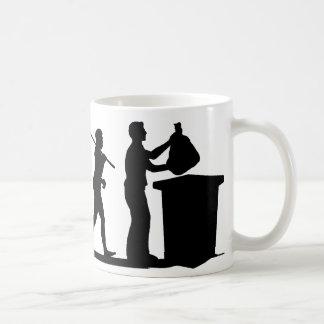Recycling Classic White Coffee Mug