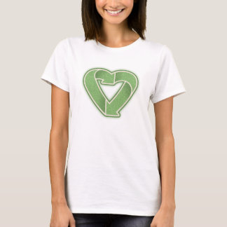 Recycling Heart -grn LTT T-Shirt