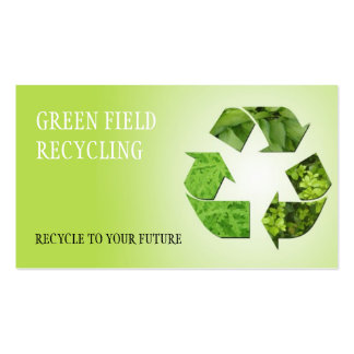 Recycling Junk Scrap Metal Removal Pack Of Standard Business Cards