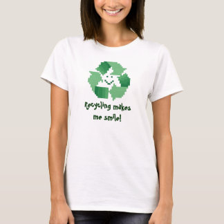 Recycling makes me smile! Women's Shirt