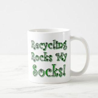 Recycling Rocks My Socks Coffee Mug
