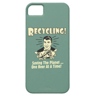 Recycling: Saving the Planet iPhone 5 Covers