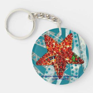 Recycling Starfish Keychain