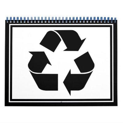 Recycling Symbol - Black