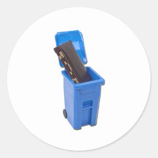 RecyclingEmploymentPositions122111 Round Sticker