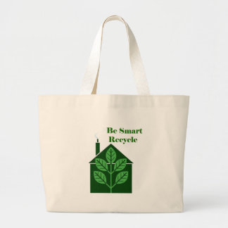 Recyle Be Smart Environmental Issues Tote Bag