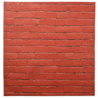 red-1108-brick printed napkins