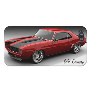 Red 1969 Chevy Camaro Phone 5/5s Case iPhone 5 Case