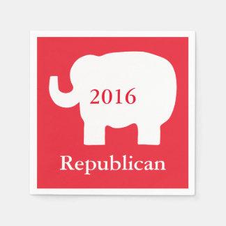 Red 2016 Republican Political Election Event Napkin