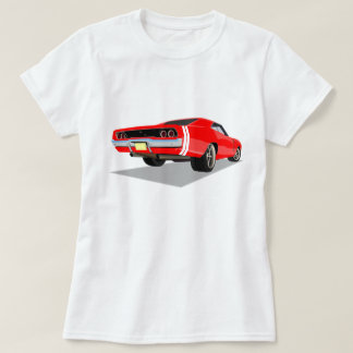 Red 68 Charger T-Shirt