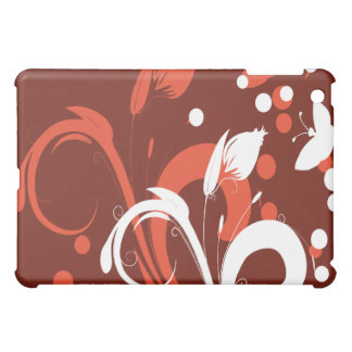 Red Abstract Flower  iPad Mini Case