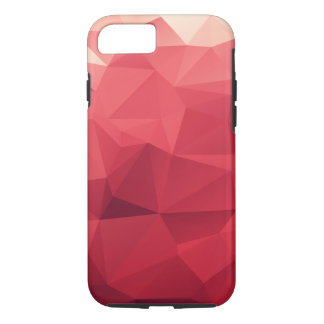 Red Abstract Geometric Case-Mate iPhone Case