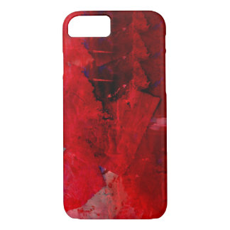 Red Abstract iPhone 7 Case