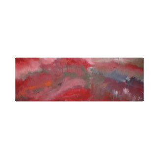 Red abstract on canvas #2