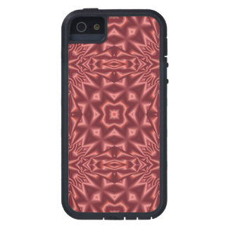 Red abstract pattern iPhone 5 cover