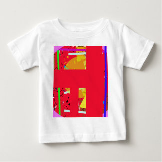 Red abstraction baby T-Shirt
