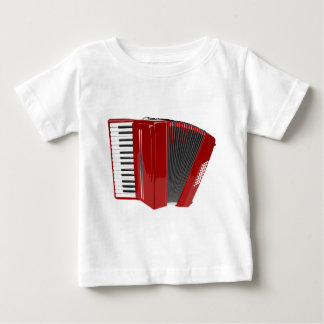 Red Accordion Baby T-Shirt