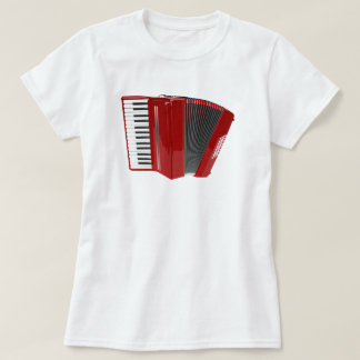 Red Accordion T-Shirt