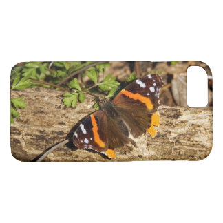 Red Admiral Butterfly iPhone 7 Case