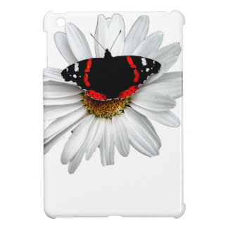 Red Admiral Butterfly on Flower iPad Mini Cases
