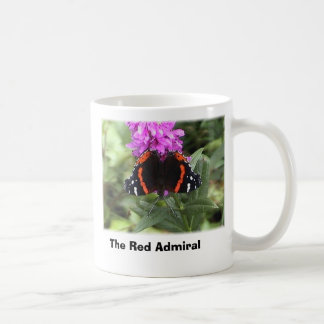 red admiral butterfly, The Red Admiral Coffee Mug